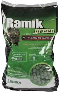 Neogen Ramik Green Fish Flavored Weather Resistant Rodenticide Nuggets